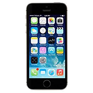 Apple iPhone 5S BLACK 16GB Unlocked GSM Smartphone (Renewed)