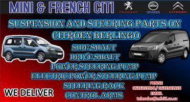 Citroen Berlingo Suspension Parts   FOR SALE