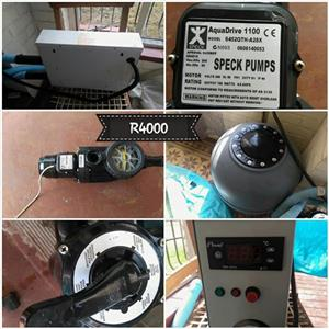 Speck pump for sale
