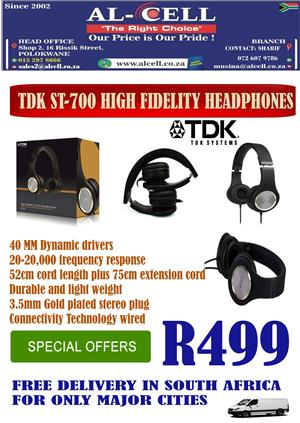 High Fidelity Headphone TDK ST-700