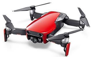 DJI MAVIC DRONE Flame Red