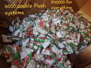 4000 Double flush systems for sale