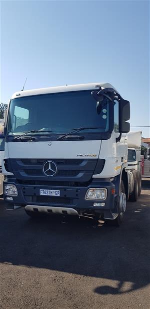 2016 Mercedes Benz Actros 3344 (6x4) Truck Tractor
