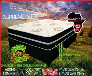 Sleep supreme Queen bedset