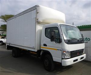 Used Mitsubishi Fuso Canter 3 ton with volume body