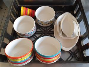 USED Assorted soup bowls, big bowls. perfect for party and catering
