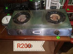 2 Plate cadac gas stove for sale