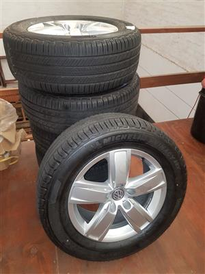 2018 Amarok 18 inch Rims and Tyres