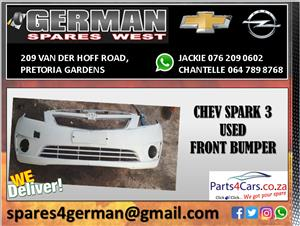 CHEV SPARK 3 USED FRONT BUMPER FOR SALE