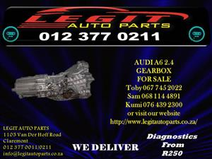 AUDI A6 2.4 GEARBOX  FOR SALE