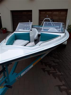 Raven Bow Rider Boat - 115 Johnson