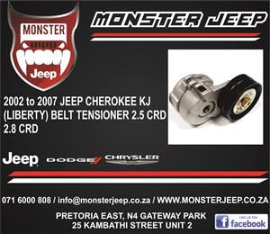 Jeep Cherokee KJ (Liberty) 2.5 and 2.8 CRD Belt Tensioner
