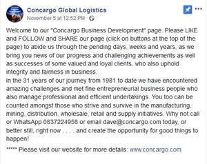 Concargo Global Logistics