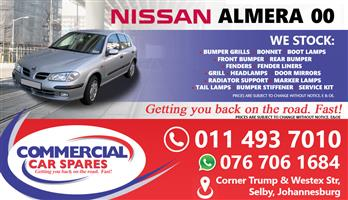 Nissan Almera Parts and spares for sale