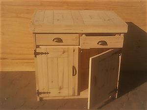 Kitchen Cupboard Base unit Farmhouse series 960 - Raw
