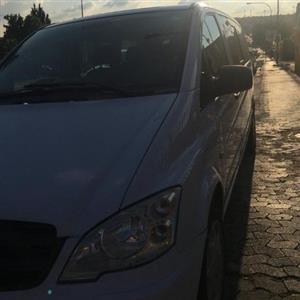 2012 Mercedes Benz Vito 116 CDI Mixto crewcab