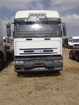 Iveco horse up for grabs.