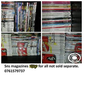 Sns Magazines for sale