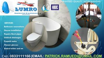 PLUMBERS RELIABLE AND REASONABLE PRICE