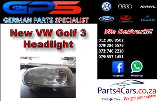 New VW Golf 3 Headlight for Sale