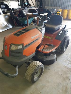 Husqvarna Ride on lawn mower for sale