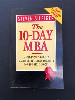 Book: The 10-day MBA by Steven Silbiger