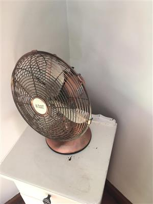 Small Russel Hobs Desk Fan