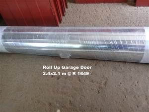 New Roll Up Garage Doors