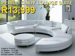 PERILLI CINDY ​C-Shape Lounge Suite with Ottoman