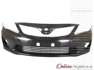 Toyota Corolla Quest 10-14 Front Bumper With Fog Light Holes