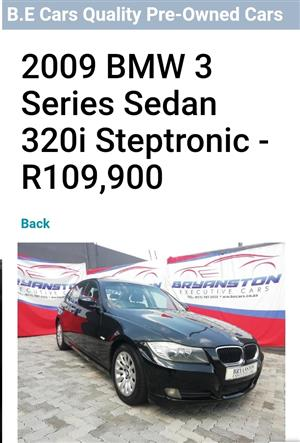 2009 BMW 3 Series sedan 320i AT (G20)
