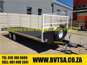 6 Meter Flatbed Trailer For Sale