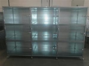 Cat cage. Parlour / Veterinary / Hospital Cage./Cattery