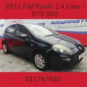 2012 Fiat Punto 1.4 Easy