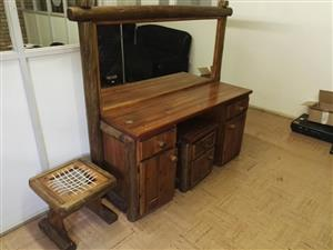 Mini wooden riempie chair for sale