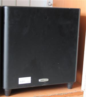 Polaaudio  powered subwoofer with remote and power cable S031990A #Rosettenvillepawnshop