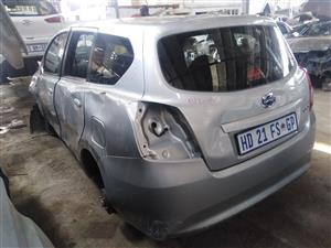 2017 DATSUN GO+ stripping for spares by K&M motor spares