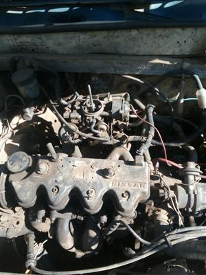 Nissan langley 1.3 for stripping,engine,gearbox,etc