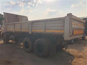 Leyland 10 cube tipper in very good working order for sale ( Contact Bertie 072-707-9933) R95000