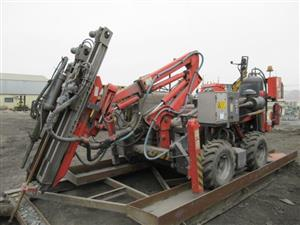 Sandvik Drill Rig and Caterpillar End Loader & other
