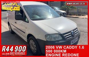 2006 VW Caddy panel van CADDY 1.6i (81KW) F/C P/V
