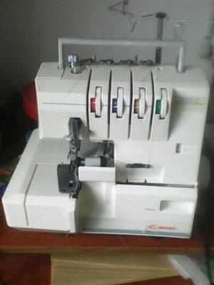 empisal overlocker overlocking sewing machine model 760c for sale only R1150