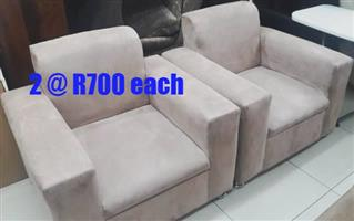 Two single couches for sale