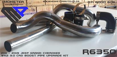 Jeep Grand Cherokee 3.0 CRD Boost Pipe Upgrade Kit