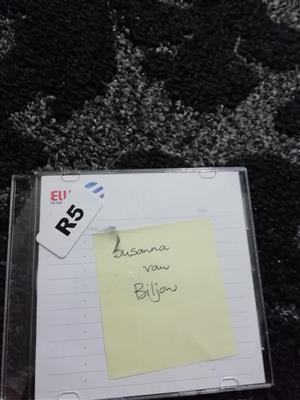 Susanna Van Biljon cd te koop