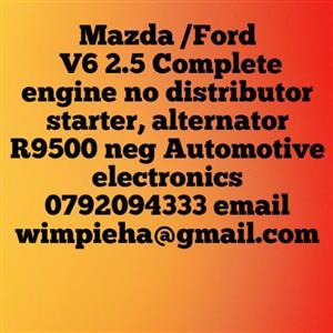 Mazda Ford v6 engine