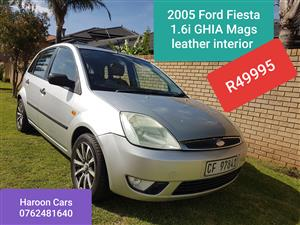 2005 Ford Fiesta 1.6i 5 door Ghia