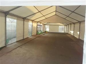 Tents frame 6x12m