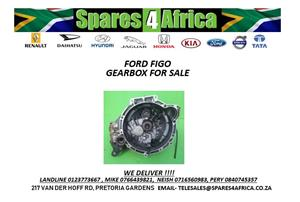 FORD FIGO USED GEARBOX