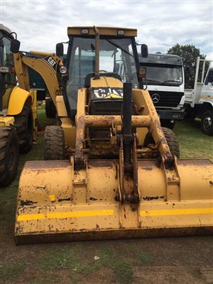 CAT 424D TLB - Backhoe Loader -  Good running / working condition